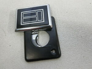 New GM OEM 1986 - 1989 Oldsmobile Toronado Trofeo  trunk lock cover emblem NOS