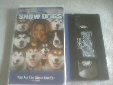 WALT DISNEY Snow Dogs (VHS, 2002)