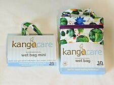 Set of Kanga Care Blossom Wet Bag and Wet Mini bag  2 bags