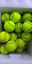 Flyer Fastpitch Softballs Asa 11Rfp, 10U balls, Excellent condition lot of 10