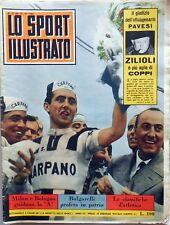 RIVISTA SETTIMANALE SPORT ILLUSTRATO N.41 1963 ZILIOLI CALCIO CICLISMO
