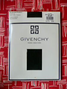 Lot of 2 VTG Givenchy C Body Smoothers Sheer Support Pantyhose Bon Navy Blue 555