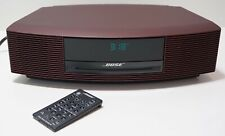 Bose Wave Music System III 352582-0010 Maroon/Burgundy (Limited Edition)