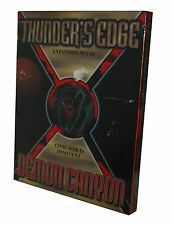 THUNDER`S EDGE-DEMON CANYON-CIVIL WAR IS IMMINENT-Boardgame-new-OVP-OOP