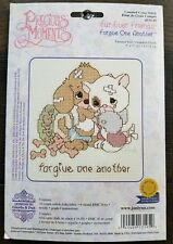 Janlynn Precious Moments Fur-Ever Friends Forgive One Another Cross Stitch Kit