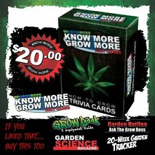 How To Grow Marijuana Fact Cards- 90-Fact Cards About Growing Indoor Cannabis