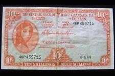 Irish Ledy Lavery 10 shillings 1964 IRELAND