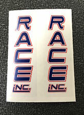 Race Inc. Fork Decals-1 Pair