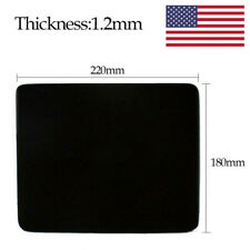 New Black Mouse Mat Mousepad 220*180*1.2mm for Computer Tablet Laptop PC