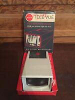 Vintage MICO Tele Vue 35mm & Bantam Focusing Slide Viewer With Original Box