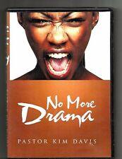 PASTOR KIM DAVIS No More Drama (2000s, DVD, CD) Take The Drama Out Of Life