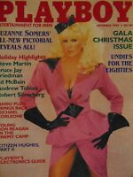 Playboy December 1984 Gala Christmas Issue | Suzanne Somers Karen Velez   #8308