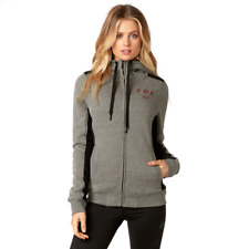 Fox Racing 2018 Womens Outbound Sherpa Zip Up Hoodie Size Small Free UK POST