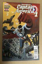 Sam Wilson Captain America #1 First Print Marvel Comics (2015) Avengers Falcon