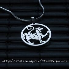 Shotokan Tiger Stainless Steel necklace pendant