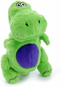 Go Dog Just For Me T Rex Small Plush Dog Toy ChewGuard GoDog Comfort Dog Toy