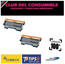 2 X TONER NO-OEM BROTHER TN2220/TN2210/TN2010/TN450 NEGRO MFC 7360N MFC 7460
