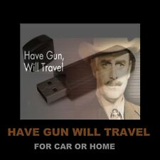 ENJOY HAVE GUN WILL TRAVEL IN YOUR CAR OR HOME! 106 OLD-TIME RADIO WESTERNS