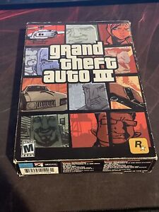 grand theft auto 3 pc - Poster And Manual Included