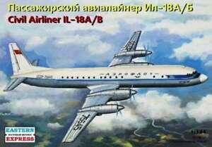 Eastern Express 14464 Soviet Civil Airliner Ilyshin IL-18A/B  Scale  kit 1:144