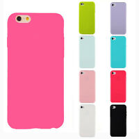 Silicone Cute Candy Rubber Gel Tpu Case Cover for iphone 5 5s 5se 5c 6 6S 7 Plus