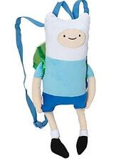Adventure Time Finn Plush Mini Backpack Figural Shaped Dangling Legs Licensed