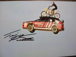 TRAVIS PASTRANA Hand Signed Autograph 4X6 Photo - MOTORSPORTS - NITRO CIRCUS