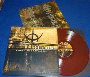 THERION- Crowning Of Atlantis LIM.+NUMB.400 mega rare notvd LP BROWN VINYL