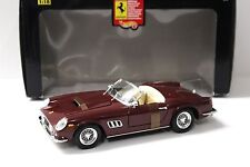 1:18 Hot Wheels Ferrari 250 GT Spider dark red NEW bei PREMIUM-MODELCARS