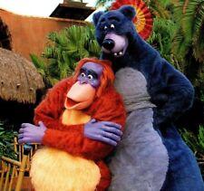 King Louie & Baloo Jungle Book Walt Disney World Resort Florida Vintage Postcard