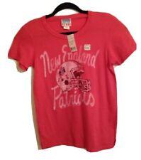 Junk Food New England Patriots Vintage Style Womens L 32 X 25 T-Shirt White NWT