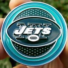 PREMIUM NFL New York Jets Poker Card Chip Protector Golf Marker Collector Coin