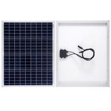 50W 12V Poly Solar Panel Photovoltaic PV Module for Caravan, Motorhome, Camper