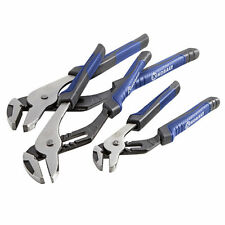 KOBALT 3 PIECE SET Groove Joint Channel Lock Pliers SET OF 3 New Free Shipping