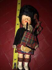 Vintage British/Scottish Empire Guard Sleepy Eye Doll