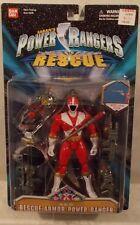 "Power Rangers Lightspeed Rescue - 5"" Rescue Armor Red Ranger Figure Bandai (MOC)"