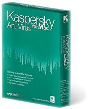 Kaspersky Anti Virus for Mac Software New & Sealed