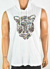 INC International Concept Mens Hoodie T-shirt XL New Tank top Tiger Sequence