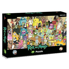 Officially Licensed Rick and Morty Total Rickall 1000 piece Jigsaw Puzzle Game