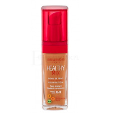 BOURJOIS HEALTHY mezcla anti fatiga Foundation 57 Golden Caramelo Squ Botle Tapa Roja