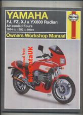 Yamaha XJ600 FJ600 FZ600 YX600 (1984-1992) Haynes Manual FJ FZ YX XJ 600 BV37
