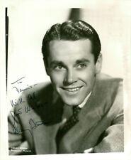 Henry Fonda (Vintage, Inscribed) signed photo COA