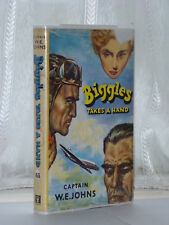 W E Johns - Biggles Takes A Hand 1st Edition 1963