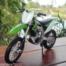 17*6*11.5cm Size Maisto 1/12 Kawasaki KX 450F Green Diecast Motorcycle Model