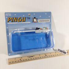 Vintage Pingu Pinga Penguin Car Mate On Dash Tray Case PN106 Slide Penguins Rare