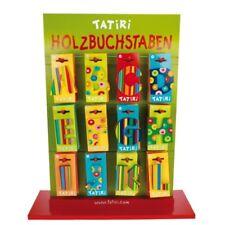 TATIRI Holzbuchstaben für Kindernamen KINDER Buchstaben aus HOLZ ca. 60mm NAMEN