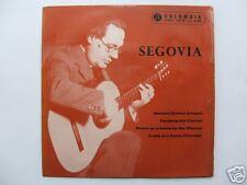 """Segovia Recital 7"""" Ep circa 1960 / Instrumental Guitar"""