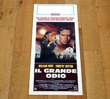 IL GRANDE ODIO locandina poster affiche A Time of Destiny William Hurt AD68