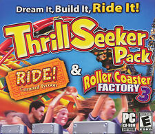 TRILL SEEKER PACK Ride Carnival Tycoon + Roller Coaster Factory 3 - 2x PC Games