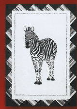 Zebra Crossing Pattern - African Animal Quilt or Wall Hanging  The Pattern Place